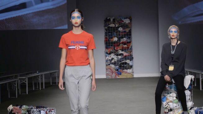 Designerstücke aus Müll: Modeschöpfer nutzen Abgelegtes