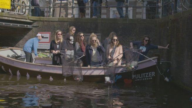 Amsterdams Plastikfischer: Touri-Tour mit Müllsammlern