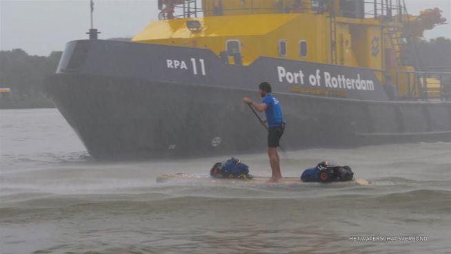 Für die Umwelt: Marjin – der Plastik-Suppen-Surfer