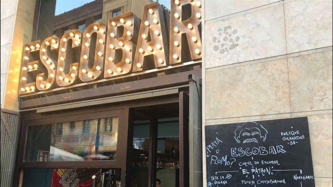 Pikanter Name: Essen in Barcelonas EscoBAR