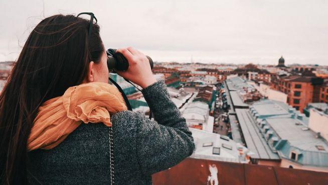 Neue Perspektiven: Unterwegs auf den Dächern von St. Petersburg